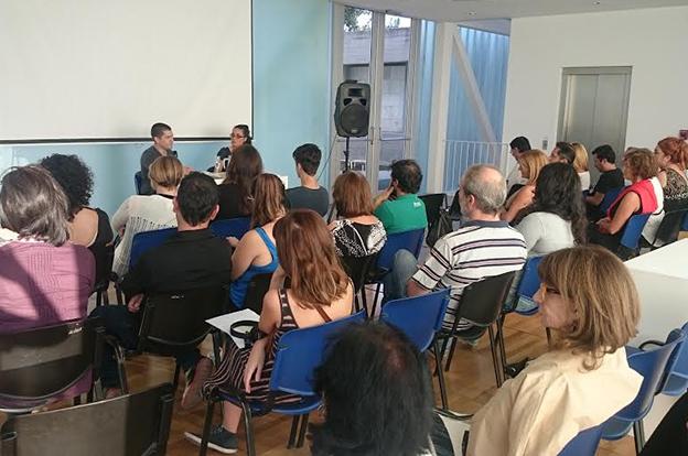 Encuentro de Galeristas Jóvenes de Córdoba en el Caraffa