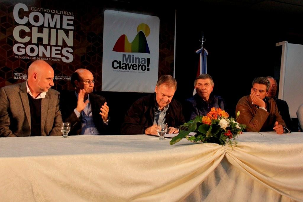 Se construirá una red cloacal en Mina Clavero y Cura Brochero