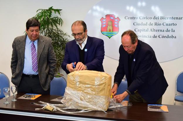 Río Cuarto: Abrieron los sobres para la licitación de la Estación Depuradora