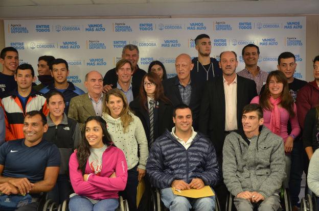 Córdoba Deportes presentó las becas 2016