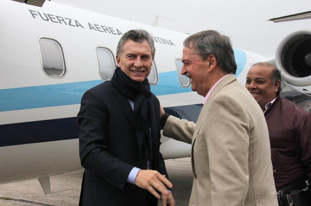 Schiaretti acompaña al presidente Macri en su recorrido por el interior