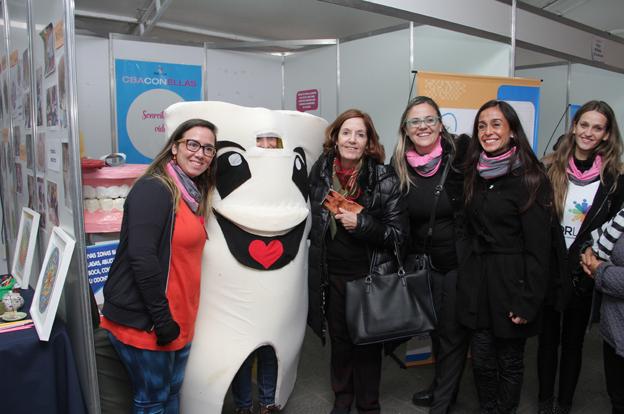 Alta participación en la campaña de promoción de la salud en las mujeres