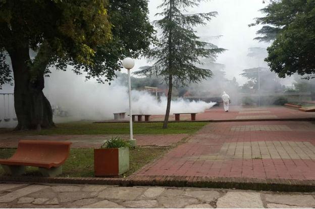 Continúan las tareas de fumigación en la provincia
