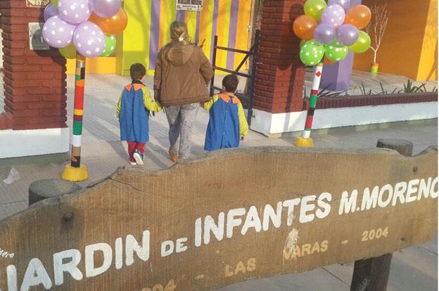Las Varas: Schiaretti inauguró la ampliación del jardín Mariano Moreno