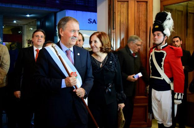 Schiaretti encabezó la Velada Patria en Río Cuarto