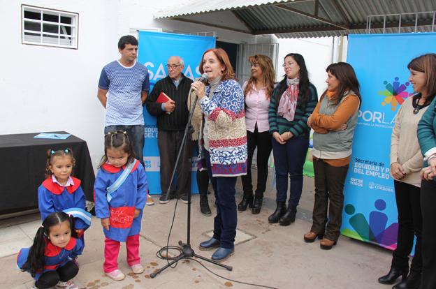 Cerca de 1.700 niños asisten ya a las salas cuna en la ciudad de Córdoba
