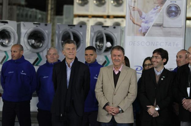 """Schiaretti: """"Alladio es un ejemplo del empuje de los industriales del interior"""""""