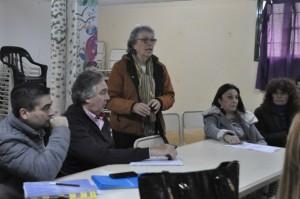Reunión Intersectorial en la escuela Lelikelén