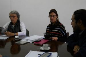 Raquel Krawchik recibió jóvenes promotores