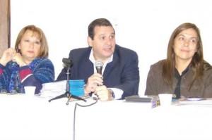 Reunión en el Alta Gracia con el Consejo Local de Niñez y Adolescencia