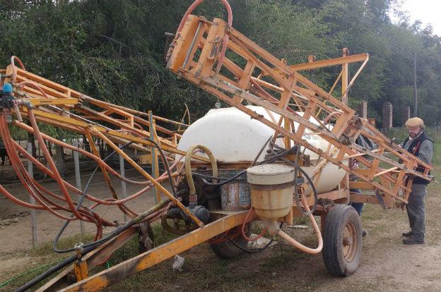 San Javier: clausuran cuatro pulverizadoras de fitosanitarios