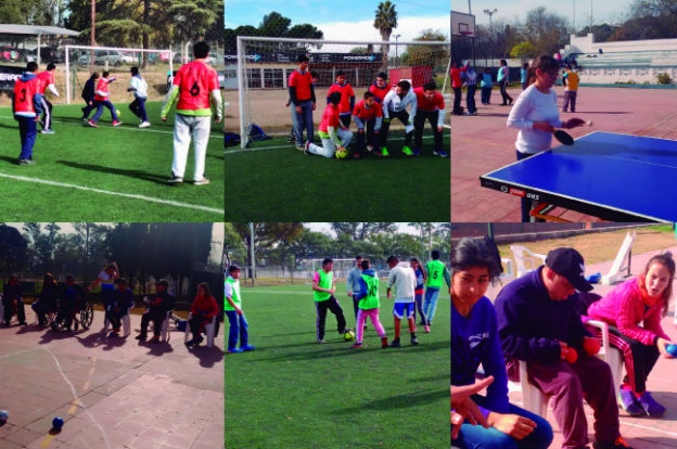 Escuelas especiales participaron de jornada deportiva