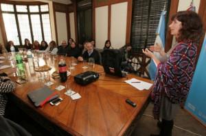Comisión Intersectorial  con Marcela Czarny