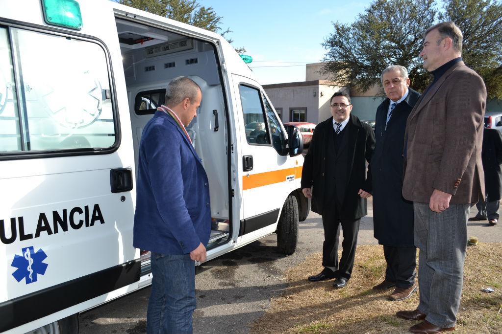 Nueva ambulancia para el Hospital de Mina Clavero