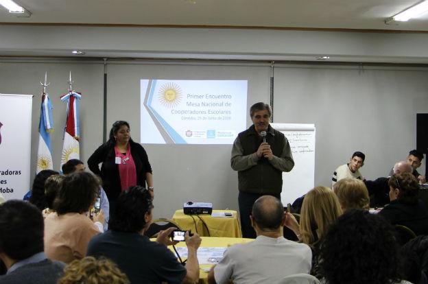 La Mesa Nacional de Cooperadoras Escolares se reunió en Córdoba