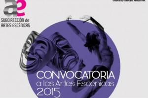 Convocatorias premios teatro y danza 2015