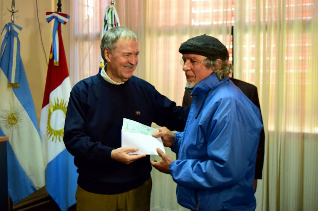Elena: Schiaretti anunció la puesta en valor de la histórica Capilla de Tegua