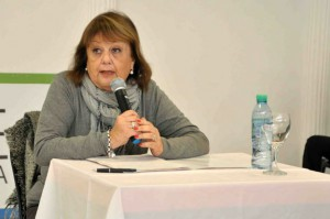 Liliana González en Embalse