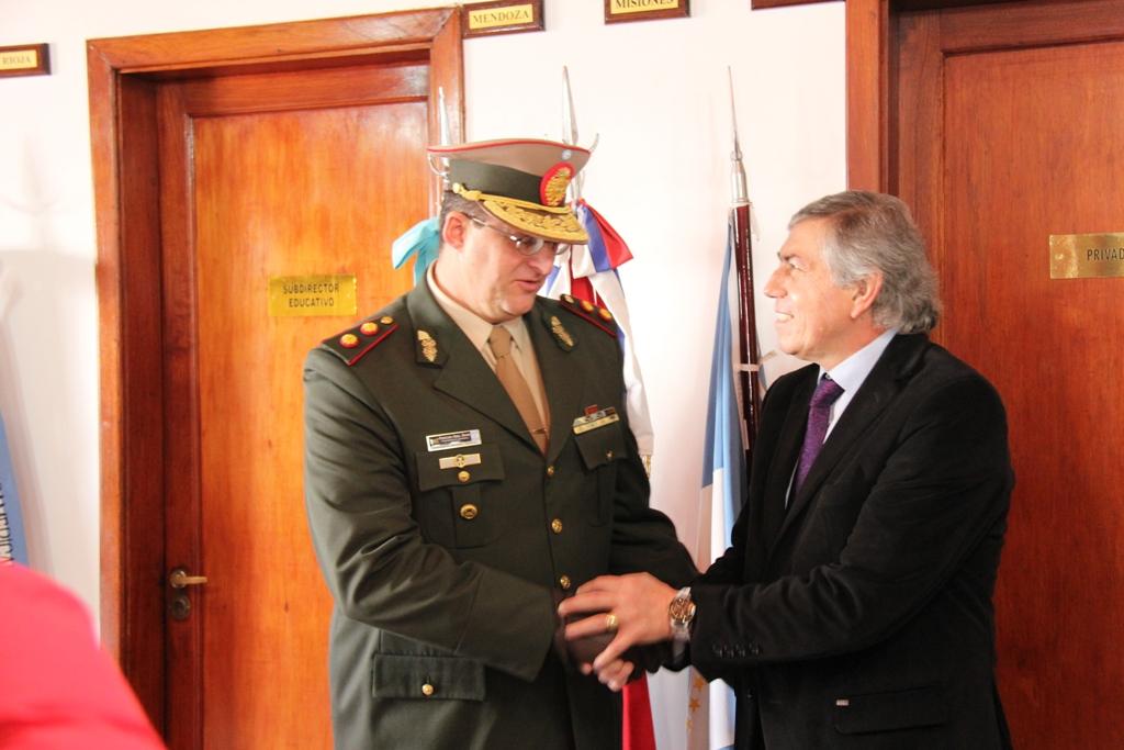 Massei participó de los festejos del 78° Aniversario de Gendarmería