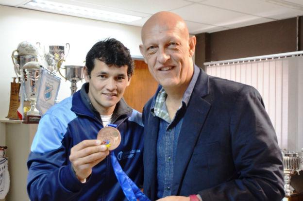 Juan Díaz trajo el bronce de Turquía