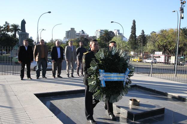 La Provincia rindió homenaje a Bustos en el aniversario de su natalicio