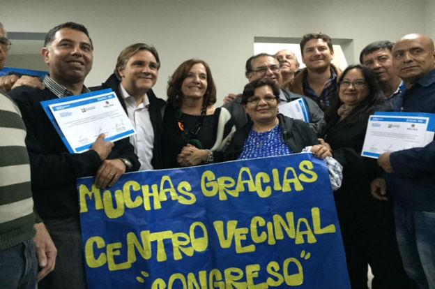 Se entregaron $140 mil a siete centros vecinales de Córdoba