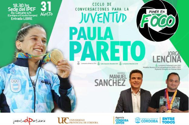 """Paula Pareto en el segundo encuentro de """"Poner en Foco"""""""