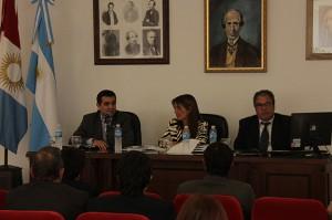 Reunión funcionarios de Justicia con autoridades de UNC