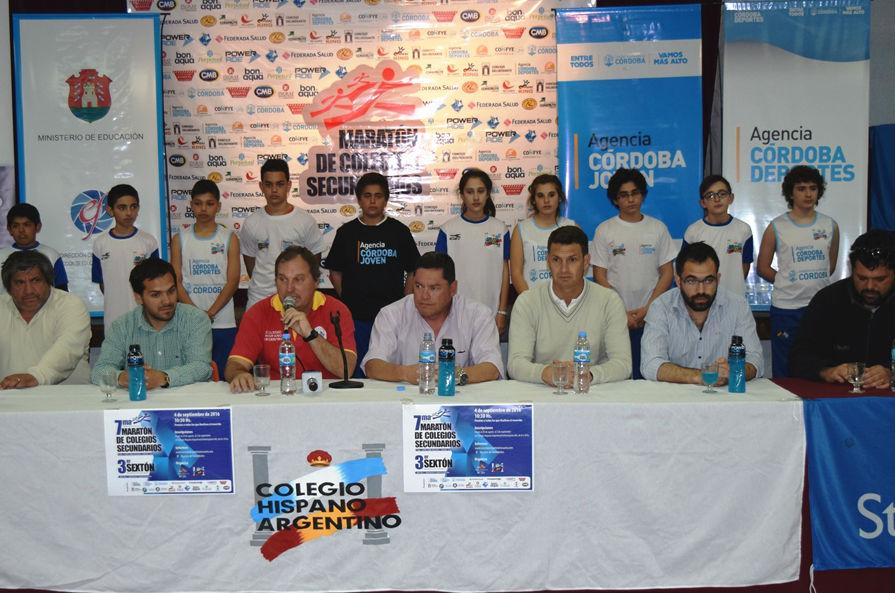 Río Cuarto: se relanzó la Maratón de Colegios Secundarios