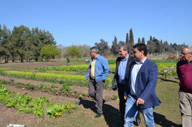 Busso se reunió con productores de Río Primero