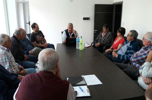 Analizan proyectos de obras de saneamiento en el departamento Roque Sáenz Peña