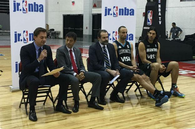 Se presenta la Junior NBA en Córdoba