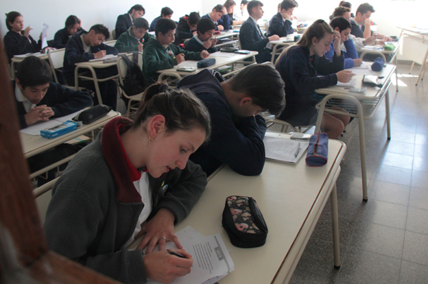 Se desarrolló la final de la 1° Olimpiada Cordobesa de Matemática