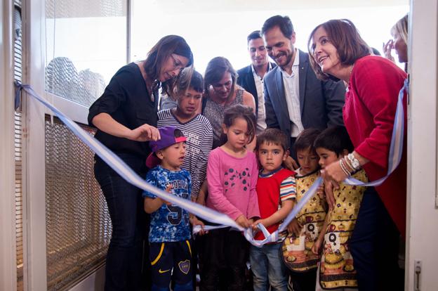En el día de su aniversario, Villa María abrió 12 nuevas salas cuna