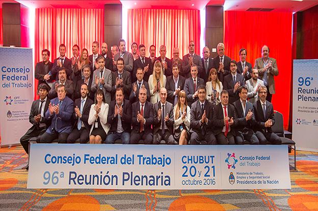 Córdoba participó del plenario del Consejo Federal del Trabajo en Puerto Madryn