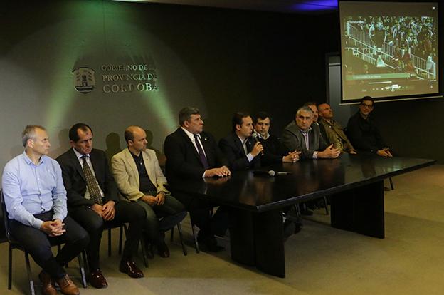 Se presentó en Córdoba el Programa Tribuna Segura