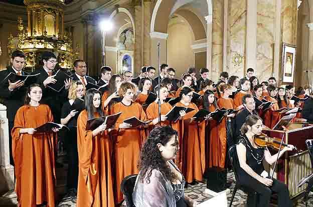 Hoy comienza el XV Festival de Música Barroca, Camino de las Estancias