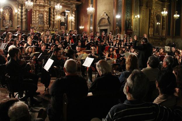 El público colmó la Compañía de Jesús en el inicio del Festival de Música Barroca 2016