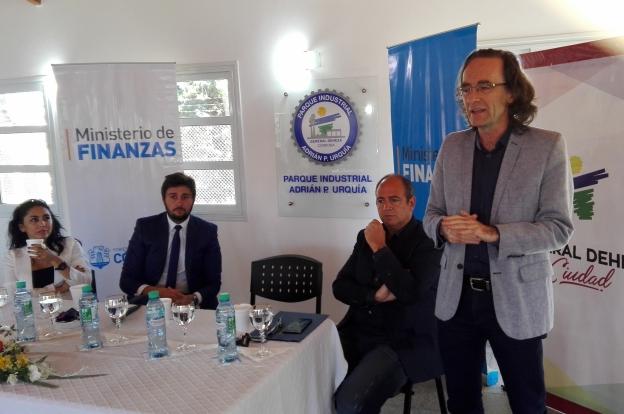 Giordano se reunió con productores del departamento Juárez Celman