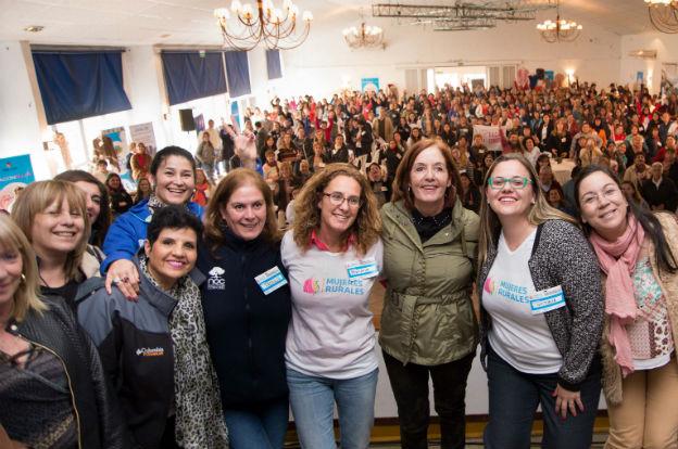 Vigo clausuró el primer encuentro de trabajadoras rurales de la provincia