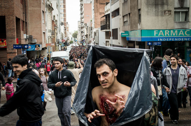 "La ""Caminata Zombie"" vuelve a Córdoba"