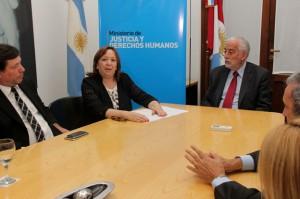 Laura Echenique nueva Secretaria de Justicia