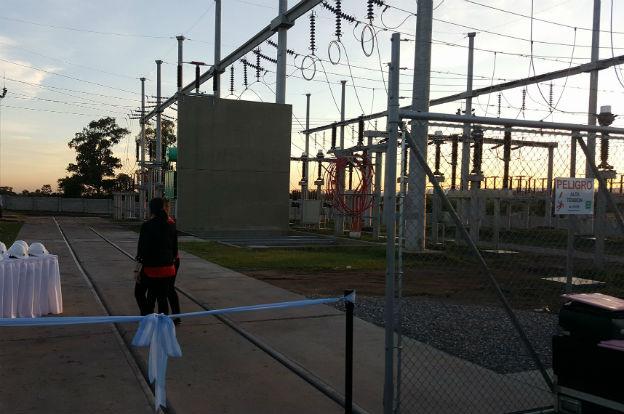 La Provincia inauguró una Estación Transformadora en Mendiolaza