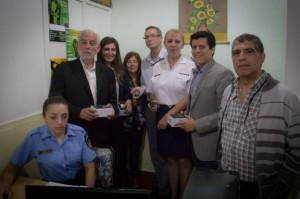 El Ministro Luis Angulo puso en funcionamiento la nueva base Cosquín.