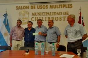 Los acuerdos se concretaron en horas del mediodía en el municipio de Chilibroste.
