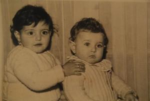 Los hermanos Gladys y José Luis Cabezas
