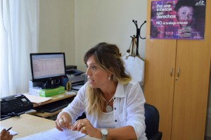 Marcela Santini, subdirectora Min. de Trabajo
