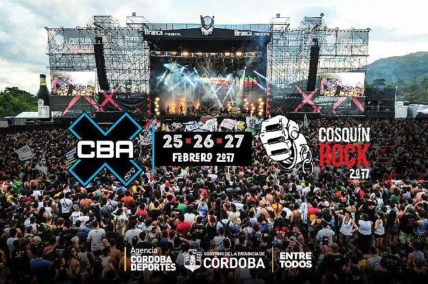 El CBAX estará presente en el Cosquín Rock 2017