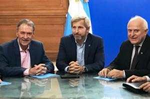 Juan Schiaretti, Miguel Ángel Lifschitz y Rogelio Frigerio.