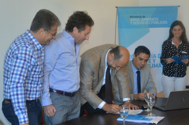 Se firmó un acuerdo socio ambiental en Tercero Arriba